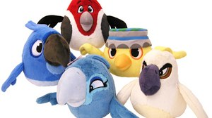"Angry Birds Rio Plush Toys Flying to Toys""R""Us"