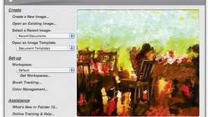 'Digital Painting Fundamentals with Corel Painter 12': Welcome to Painter 12 - Part 1