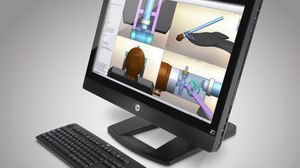 HP Unveils 27-inch All-in-One Workstation