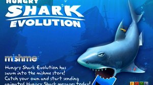 'Hungry Shark' Chomps into Mobile Messaging