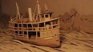 Robin Frohardt Creates Cardboard Tribute to Werner Herzog