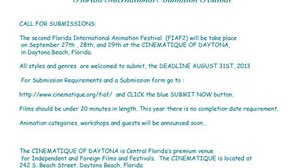 The Second Version of the Florida International Animation Festival (FIAF2)