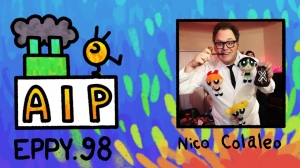 Podcast EP98: Nico Colaleo's Journey to Become an Animation Editor and Creator of 'Ollie & Scoops'