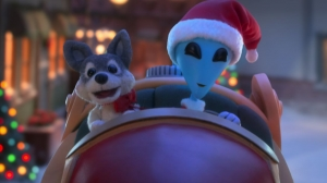 Sneak a Peek at Netflix's Stop-Motion 'Alien Xmas' Holiday Special Trailer
