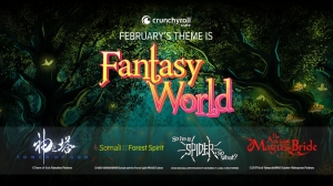 "Explore a ""Fantasy World"" with February's Crunchyroll Crate"