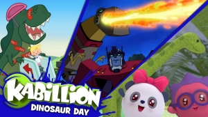 Celebrate National Dinosaur Day with Kabillion on May 15!