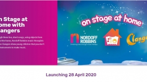'On Stage at Home with Clangers and Nordoff Robbins' Launching April 28