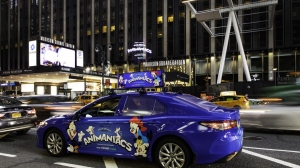 'Animaniacs Are Back!' Holographic Characters Sighted Atop Cabs in LA and NYC