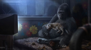MPC Film's Digital Gorilla Delivers the Emotion in 'The One and Only Ivan'