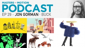 New 'Masters of Motion' Podcast with Creative Director Jon Gorman