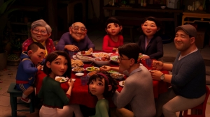 WATCH: Glen Keane's 'Over the Moon' Family Dinner Clip