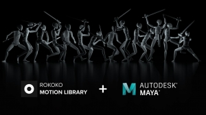 Rokoko Studio Opens the Virtual Doors to its 'Motion Library'