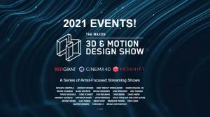 Line-Up Announced for Maxon's '3D & Motion Design Show'