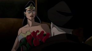 CLIP: Steve Trevor Proposes to Wonder Woman in 'Justice Society: World War II'