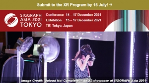 Submit Your XR Masterpiece to SIGGRAPH Asia 2021