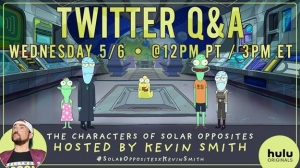 Kevin Smith Hosting 'Solar Opposites' Animated Twitter Q & A