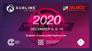 Register NOW! Sublime Jalisco 2020 Virtual Edition Runs December 8-10