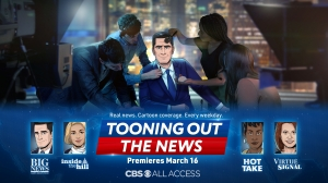 Animated Series 'Tooning Out the News' Sets CBS All Access Debut