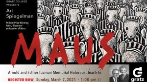 Gratz College to Host Art Spiegelman March 7