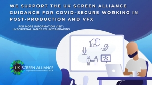 UK Screen Alliance Updates Post and VFX COVID-19 Guidance