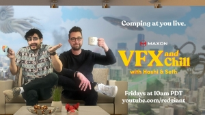 Maxon Launches 'VFX and Chill' Web Series