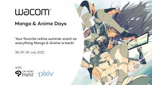 Celsys and Wacom Set Free 'Manga & Anime Days' Digital Event