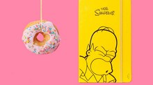 'The Simpsons' Launch Moleskine Collaboration