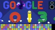 Google Bids Adieu to 2013 with New Doodle