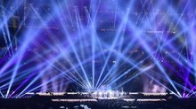 TBL Transforms Super Bowl Halftime Crowd into Panoramic Concert Screen