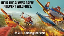 Disney's 'Planes' Crew Teams with Smokey Bear