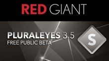 Red Giant Opens Public Beta for PluralEyes 3.5