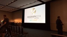 SIGGRAPH 2014 Day 1 Report