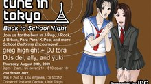 Tune in Tokyo Club's Back to School Night
