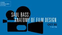 Academy to Present 'Saul Bass: Anatomy of Film Design'
