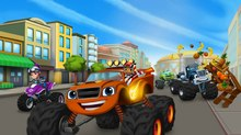 Nickelodeon Launches 'Blaze and the Monster Machines'