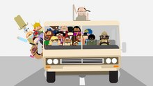 Mixtape Club Gets Animated for Google Creative Lab