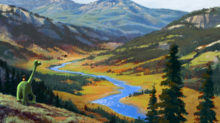 New Concept Art Released from Pixar's 'The Good Dinosaur'