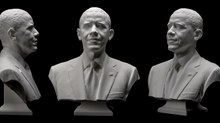 Autodesk Tools Help Smithsonian Create 3D Printed Bust of President Obama