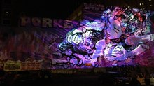 TDC Merges Street Art with Projection Mapping Tech for White Night Melbourne