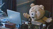Iloura Bears it All for 'Ted 2'