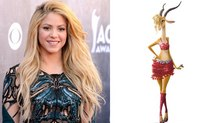 Shakira Shaking Up Disney's 'Zootopia'