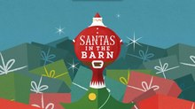 Aardman Nathan Love Spreads Holiday Cheer with Title Sequence for 'Santas in the Barn'