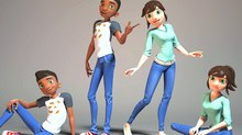 Cogswell Students Release Second Batch of 3D Animatable Rigs