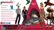 yoanimate 3D Animation Contest