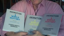 ANIMATON A WORLD HISTORY  Volumes 1, 2, and 3 by Giannalberto Bendazzi