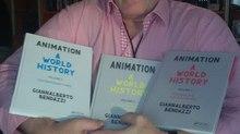 ANIMATON A WORLD HISTORY  Volumes 1, 2, and 3 by Giannalberto Bendazzi
