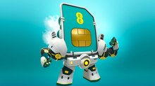 Not To Scale Designs the Ultimate Mascot for New EE Campaign
