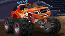 'Blaze and the Monster Machines' teaming with NASCAR Stars for New Specials