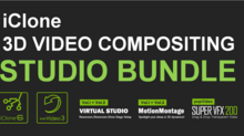 Reallusion Launches iClone 3D Video Compositing Studio Pack