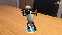 Aardman Unveils 'Shaun the Sheep' Sticker Pack